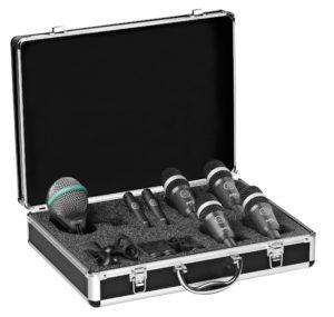 комплект микрофонов для барабанов