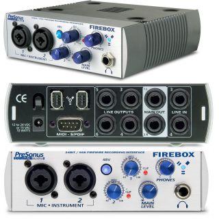 Аудио интерфейс Presonus Firebox (поломан)
