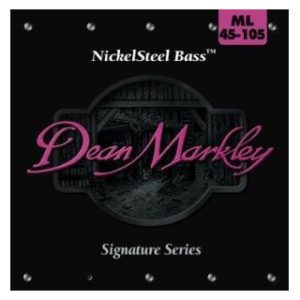 Струны для бас-гитары Dean Markley NickelSteel Bass ML-2604A