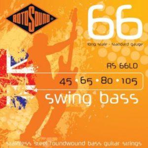 Струны для бас-гитары Rotosound RS 66LD 45-105