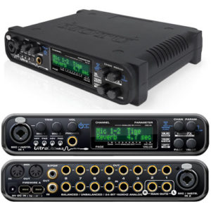 моту ультралайт мк3, аудиоинтерфейс,