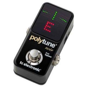 Тюнер гитарный t.c.electronic PolyTune Noir