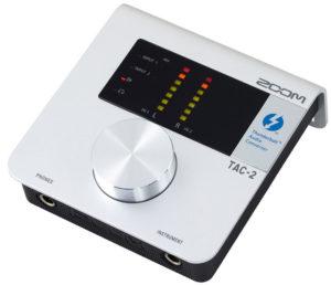 thunderbolt аудиокарта